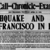 San Francisco: The day after the earthquake (1906)
