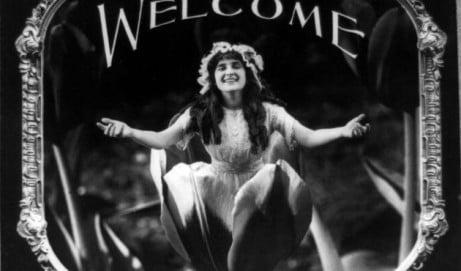 Motion picture etiquette: Lantern slides (1912)
