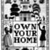 "Prize-winning ""Own Your Home"" poster (1920)"