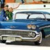 1958 Chevrolet convertibles & sport coupes
