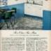 Vinyl plastic-coated wall and floor coverings (1950)