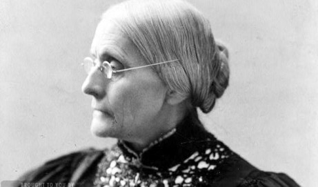 A fond farewell to Susan B Anthony (1906)
