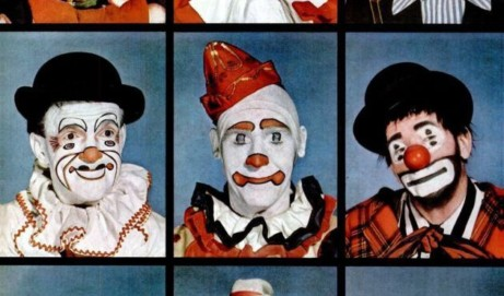 Clowns: Makeup an artistic expression (1949)