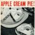 Apple cream pie recipe (1955)