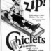 Chiclets – the candy coated gum (1922)