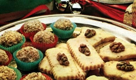 Caramel fudge balls & Shortbread cookies (1981)