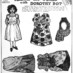 Dorothy Dot paper doll: Little Diaz of Mexico (1909)