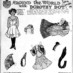 Dorothy Dot paper doll: Little Carmen from Spain (1909)