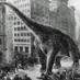 The newly-discovered Gigantosaurus dinosaur (1914)