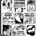 Halloween candy & costume ads (1973-1975)