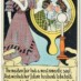 Vintage Halloween mirror postcards (1906)