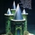 "Candy and cake ""ice"" castle (1979)"