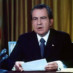 Video of President Nixon's first Watergate speech (1973)