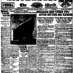 Titanic: New York World front page (1912)