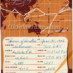San Francisco to Honolulu flight log souvenir cards (1956)