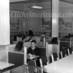 Vintage diner & patrons (1940s)