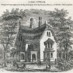 Antique Gothic cottage home design (1862)