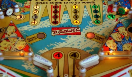Pinball wizards: Vintage pinball machines of the 1940s