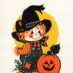 Halloween cards for kids from the '70s & '80s