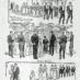 Wedding etiquette: Bridal procession (1893)