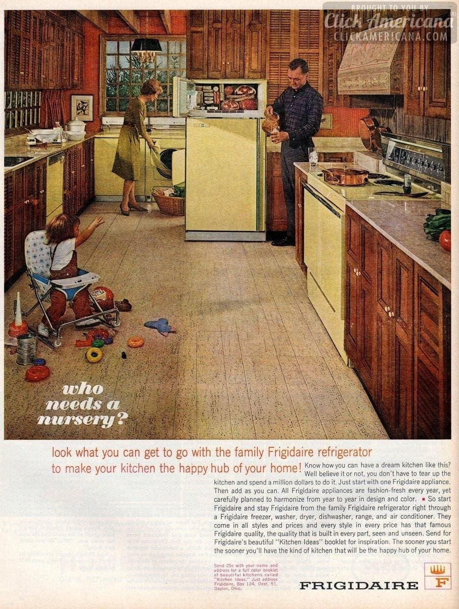 Make your kitchen the happy hub of your home! (1963)