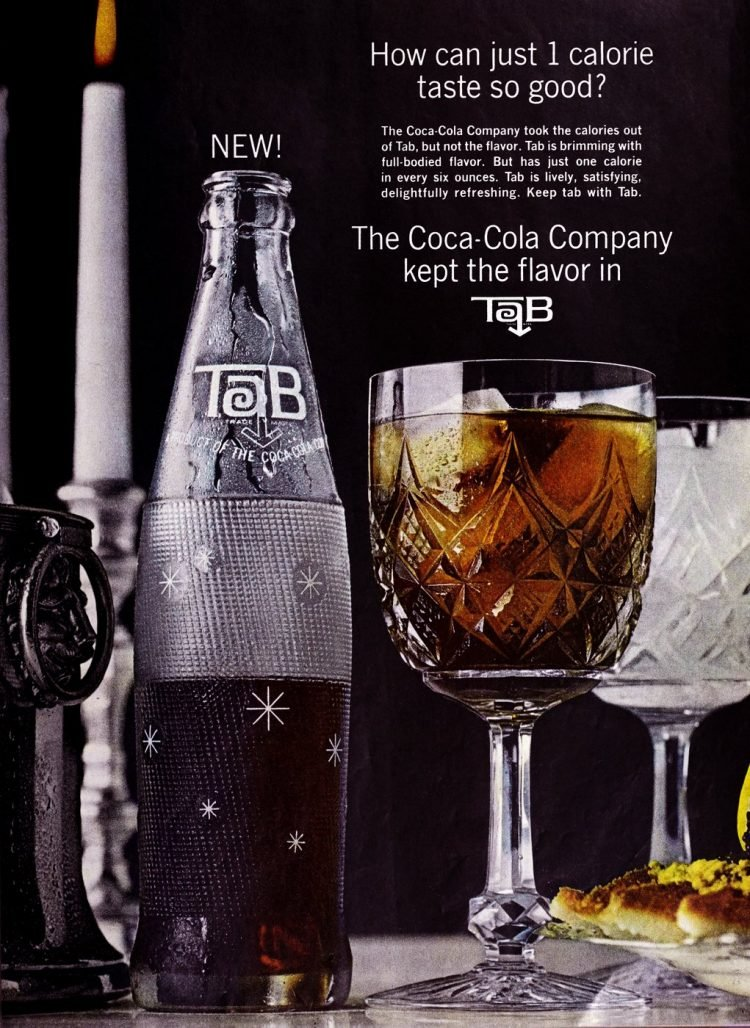 Vintage Body by Tab cola ad