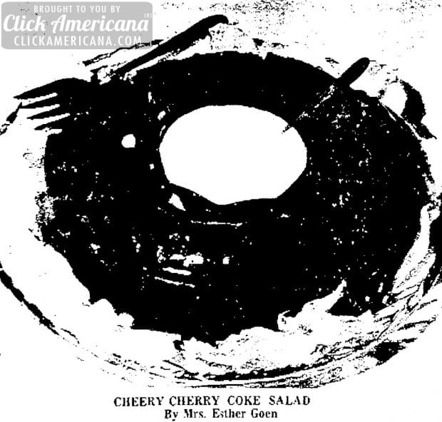 How to make a Cheery Cherry Coke Salad (1964)