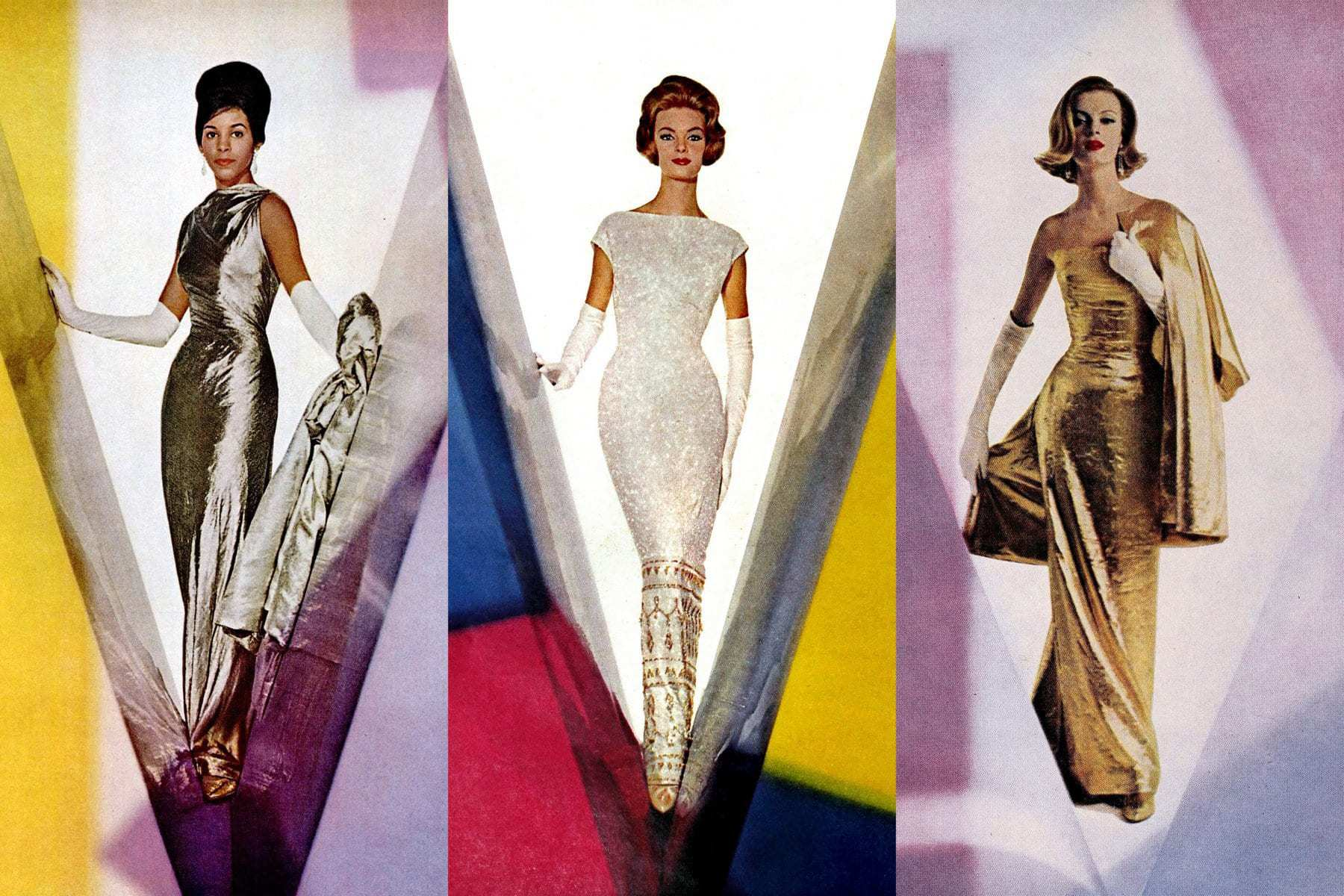 10 stunning vintage evening dresses Eye-catching form-fitting bodycon styles from the 1950s & 1960s