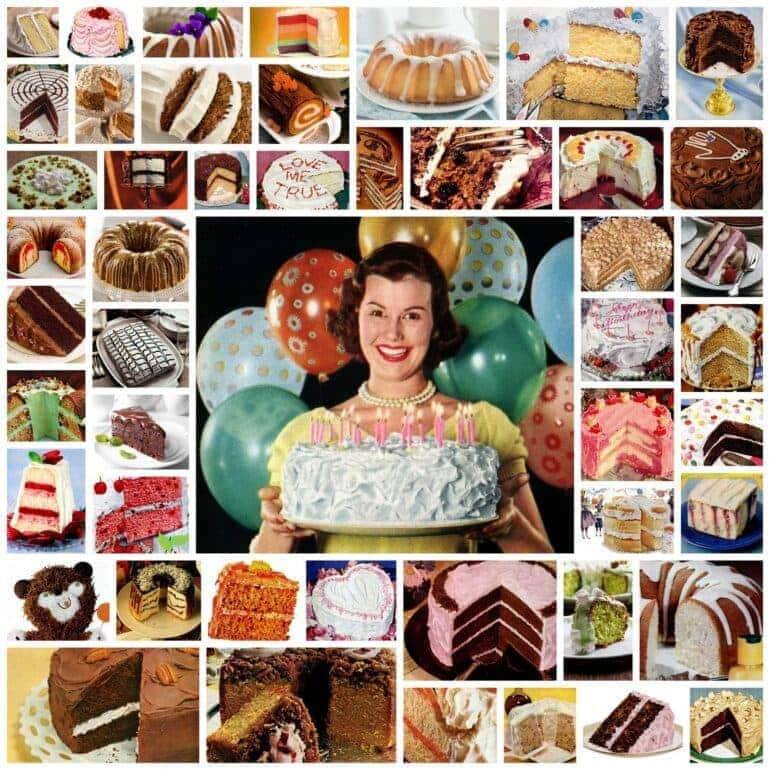 100+ vintage cake recipes for every occasion
