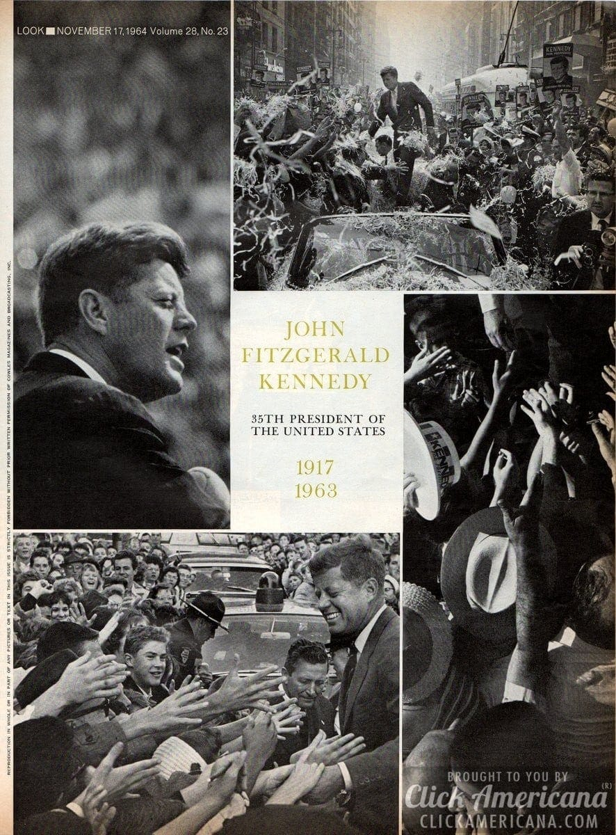 John Fitzgerald Kennedy: 1917-1963