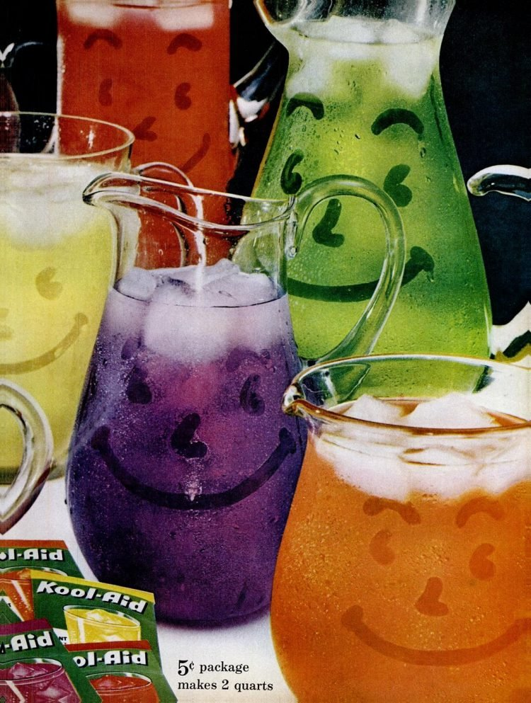 11 flavors of Kool Aid from 1961 (2)