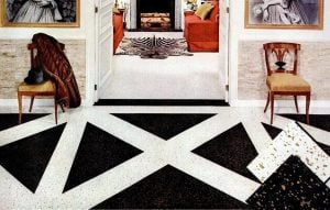 15 fabulous examples of fun and fashionable flooring from the fifties