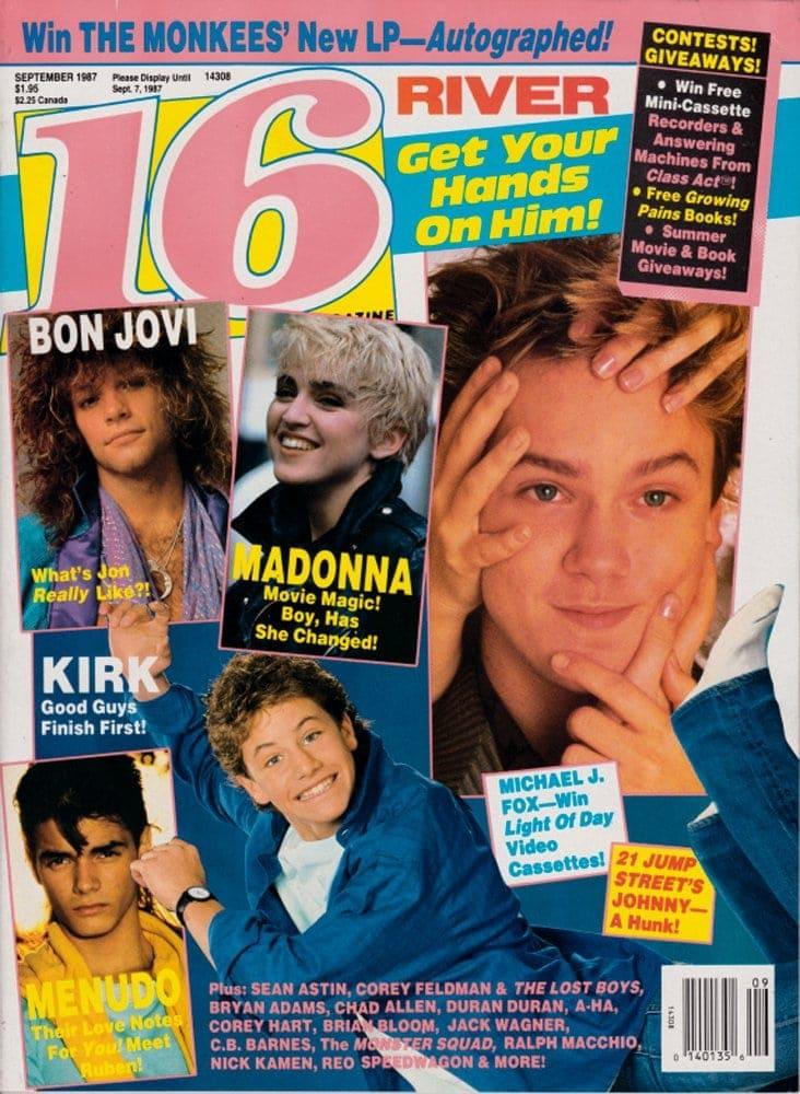 16 Magazine September 1987