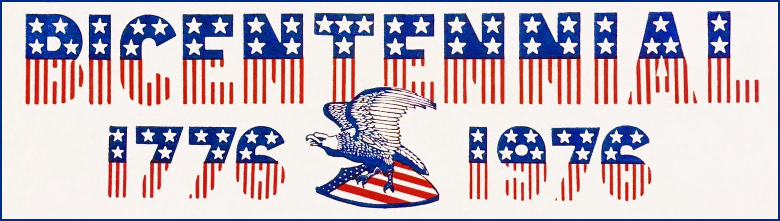 1776-1976 - US Bicentennial bumper sticker
