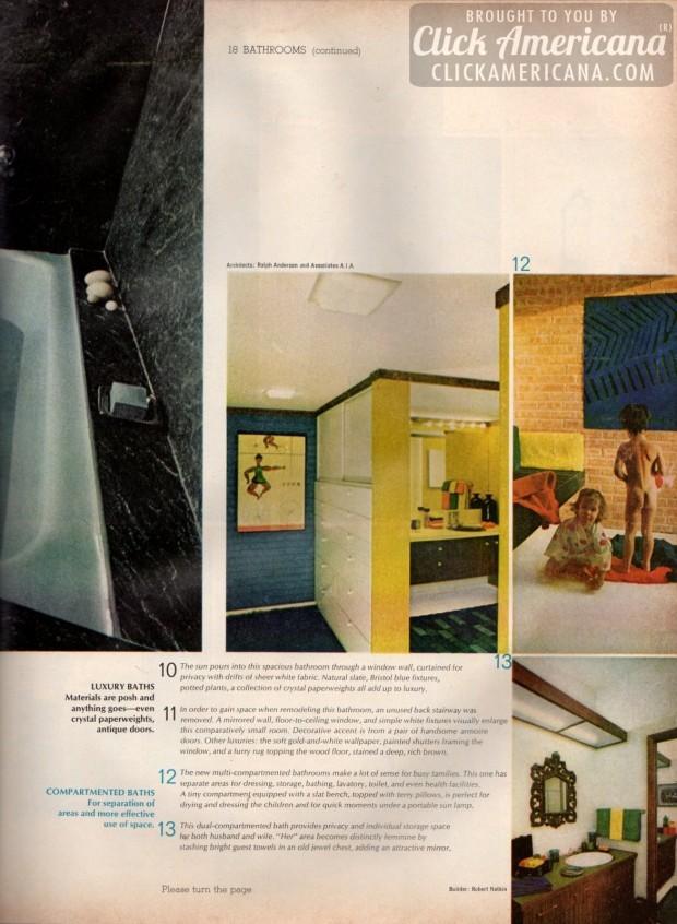 18 Bathrooms Home Decor Ideas From 1968 Click Americana