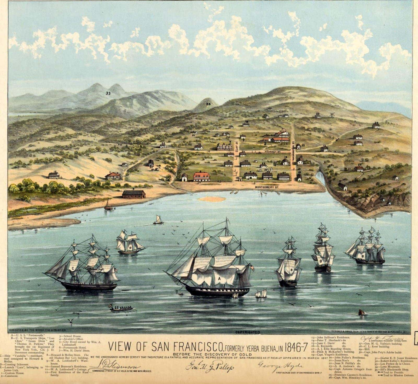 1846 San Francisco