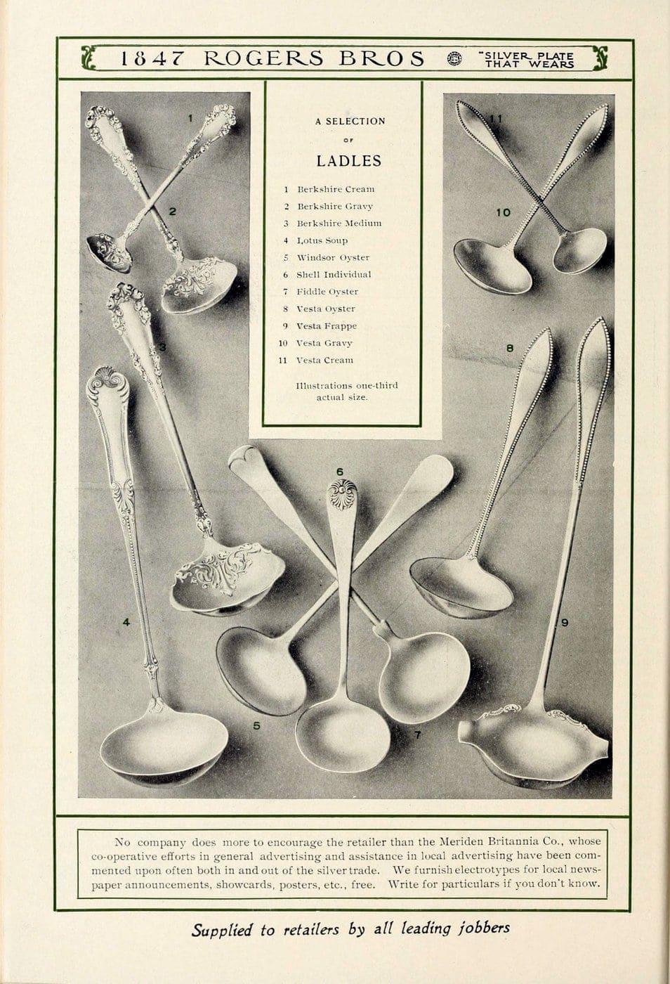 1847 Rogers Bros silver pieces (13)