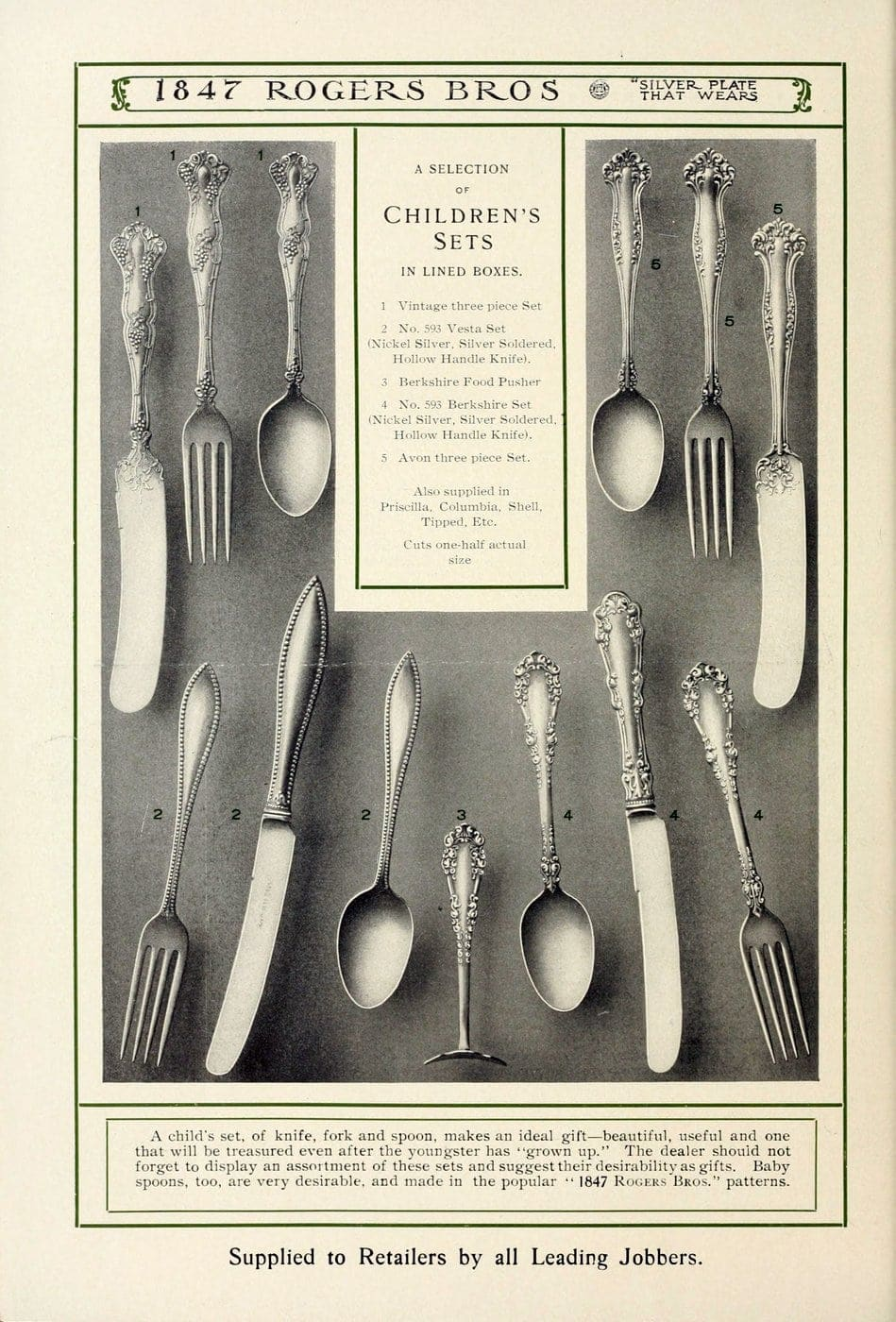 1847 Rogers Bros silver pieces (21)