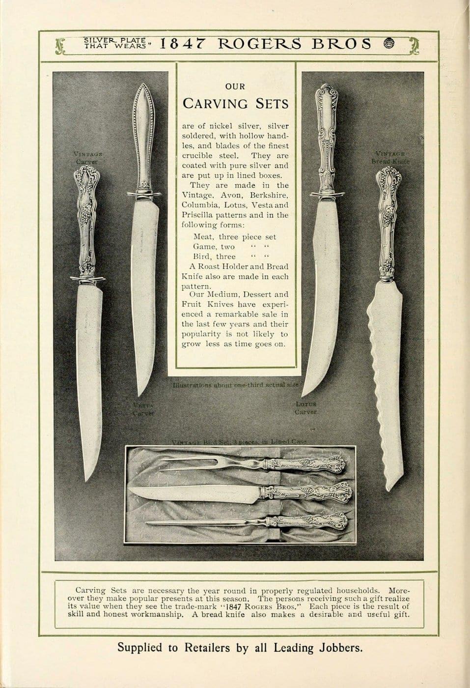 1847 Rogers Bros silver pieces (24)