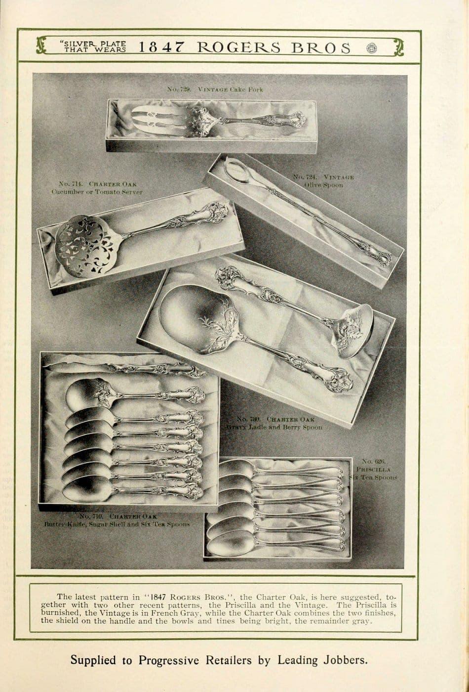 1847 Rogers Bros silver pieces (27)