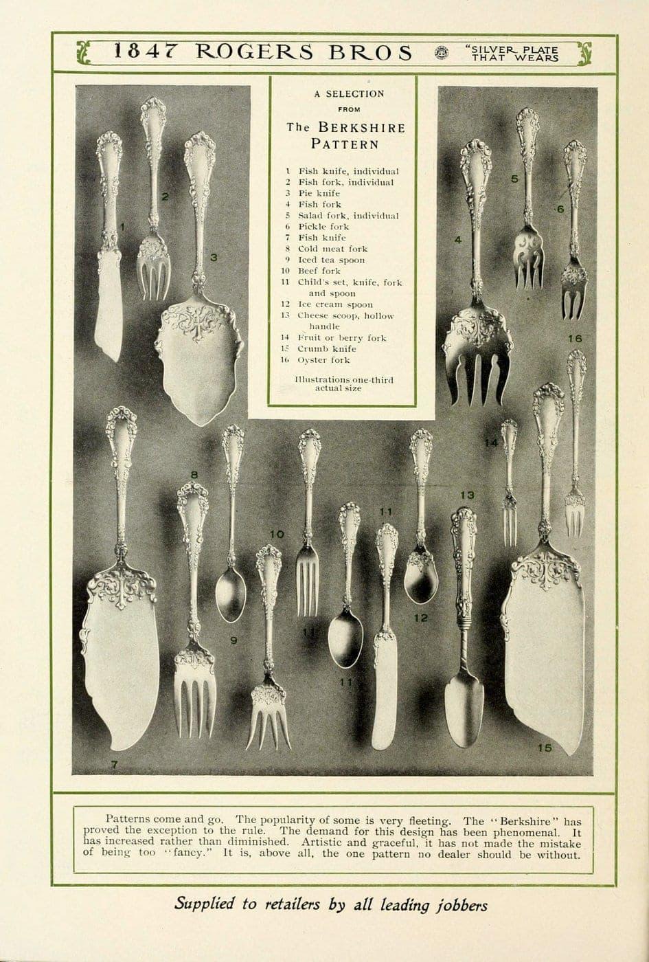 1847 Rogers Bros silver pieces (4)