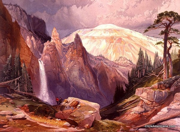 Six scenes of Yellowstone National Park (1875)