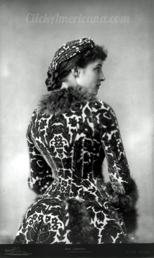 Lily Langtry in 1882 - Click to see a larger version