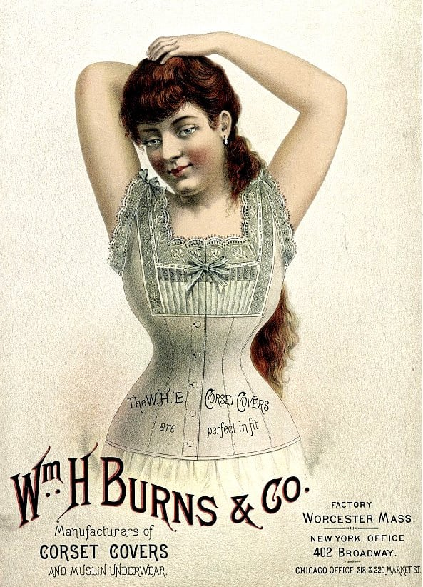 1887 Wm. H. Burns & Co. manufacturer of corset covers and muslin underwear