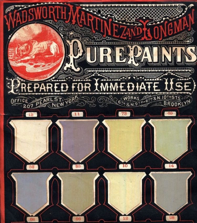 1890 Wadsworth Martinez Longman pure paints