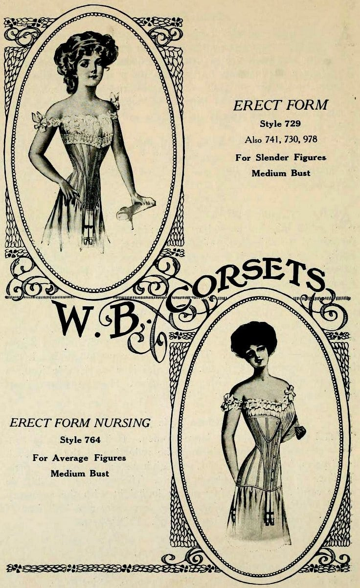 Weingarten Brothers corsets from 1895