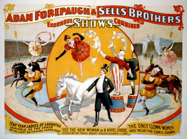 1896-Adam Forepaugh & Sells Brothers enormous shows combined