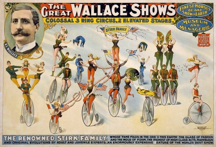 1898-The Great Wallace shows