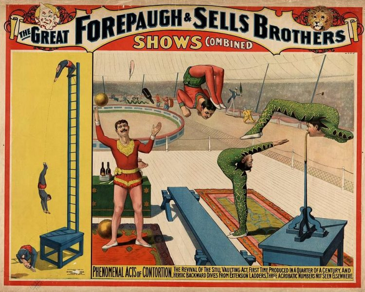 1899-Phenomenal acts of contortion