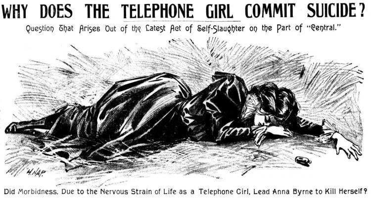 1899 - Why does the telephone girl commit suicide